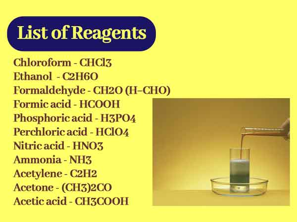 What are reagent agents || reagents in organic chemistry reactions