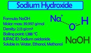 Sodium Hydroxide (Caustic Soda) NaOH