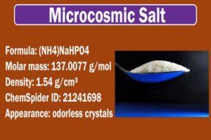 Method of Preparation of Microcosmic Salt