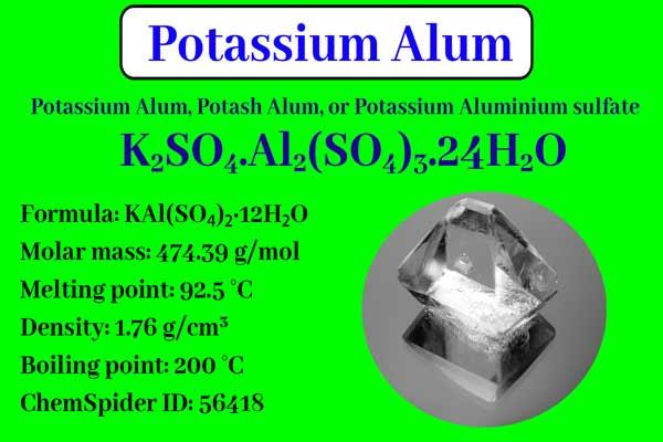 Potassium Alum: Properties, Preparation, Uses