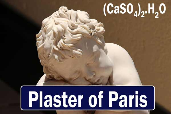 What is the use of plaster of Paris?